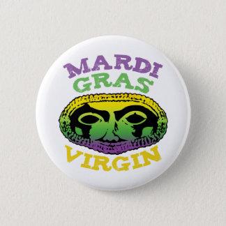 Mardi Gras Virgin 6 Cm Round Badge
