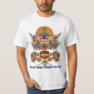 Mardi Gras Voodoo Quarterback Please view notes T-Shirt