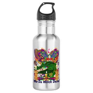 Mardi Gras Who Da Witch Doctor Dark Text 532 Ml Water Bottle