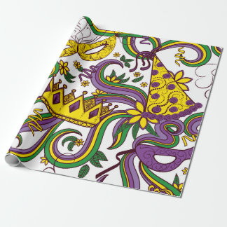 Mardi Gras Wrapping Paper