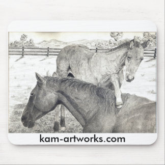 Mare and Foal # 2 Mousepad