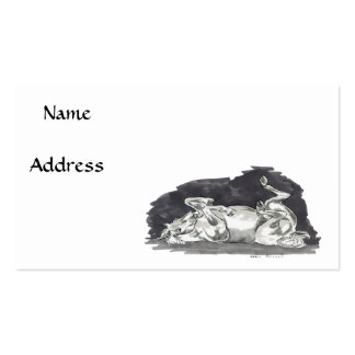 Mare and Foal Business Card Template