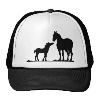 Mare and Foal Cap Hat