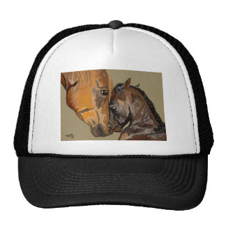 Mare and Foal Mesh Hats