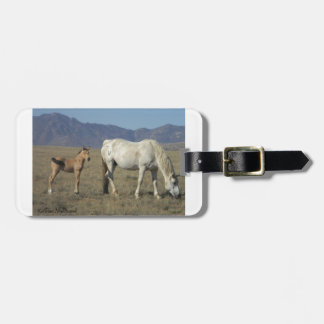 Mare and Foal (Horses) Tags For Bags
