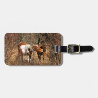 Mare and Foal Tags For Luggage