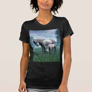 Mare and Foal T Shirts