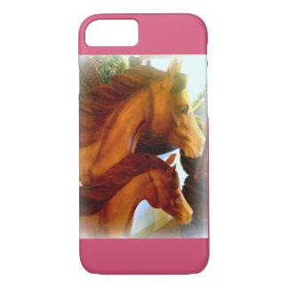 mare and pony iphone case