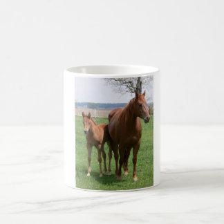 Mare & Foal Basic White Mug