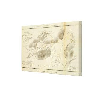 Mare Island Straits, Calif Canvas Prints