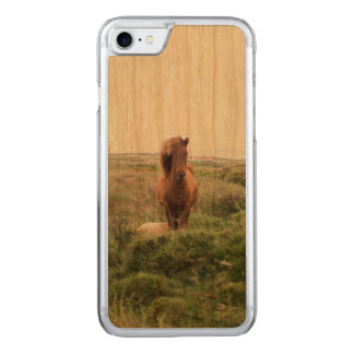 Mare with Lucious Bangs Carved iPhone 8/7 Case