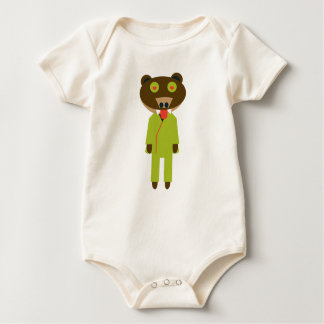 mareguma of teacher generation baby bodysuit