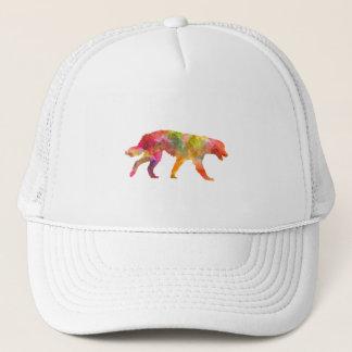 Maremma Abruzzes Sheepdog in watercolor Trucker Hat