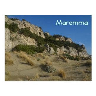 Maremma Regional Park Tuscany Italy Postcard