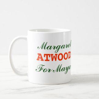 Margaret Atwood For Mayor Mug