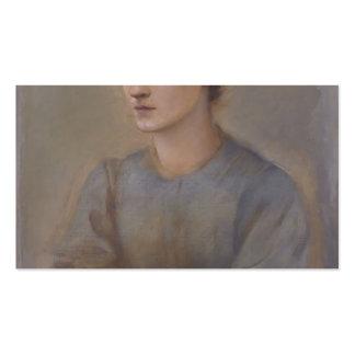 Margaret by Edward Burne-Jones Business Card Template