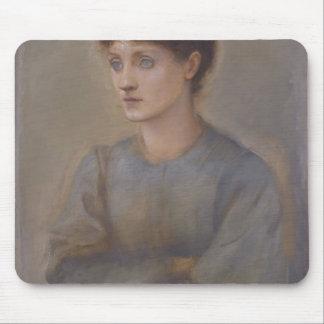 Margaret by Edward Burne-Jones Mouse Pads