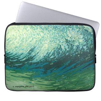 Margaret Juul Custom Printed Artwork Laptop Sleeve