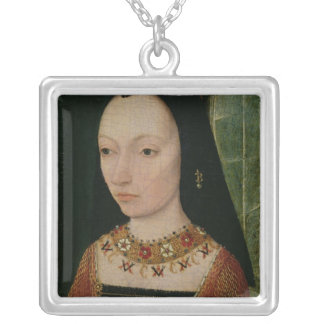Margaret of York  Duchess of Burgundy, c.1477 Silver Plated Necklace
