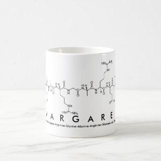 Margaret peptide name mug