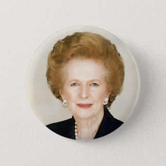 Margaret Thatcher 6 Cm Round Badge