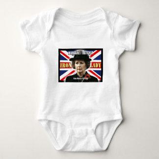 Margaret Thatcher Prime Minister Baby Bodysuit