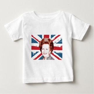 MARGARET THATCHER UNION JACK BABY T-Shirt