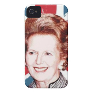 MARGARET THATCHER UNION JACK iPhone 4 COVERS
