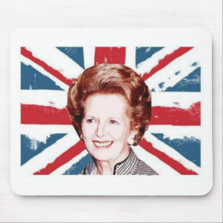 MARGARET THATCHER UNION JACK MOUSE PAD
