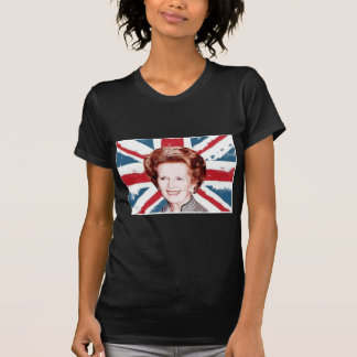 MARGARET THATCHER UNION JACK T-Shirt