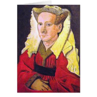 Margaret van Eyck Greetings card