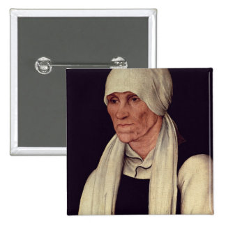 Margarethe Luther , mother of Martin Luther 15 Cm Square Badge