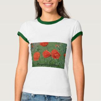 Margaret's Gardens Poppy T-shirts