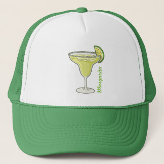 Margarita A glass of Margarita cocktail. alcohol, Trucker Hat
