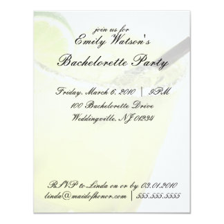 Margarita Bachelorette Party Invitations