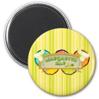 Margarita bar 6 cm round magnet