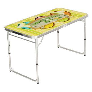 Margarita bar beer pong table