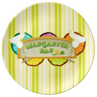 Margarita bar plate