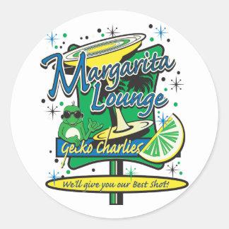 Margarita-Cocktail-Lounge Classic Round Sticker
