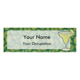 Margarita cocktail name tag