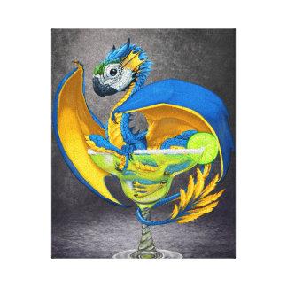 Margarita Dragon 8x10 Canvas Print