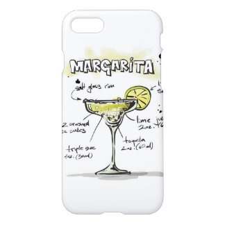 Margarita Drink Recipe Design iPhone 7 Case