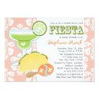 Margarita Fiesta Bridal Shower Invitations Pink