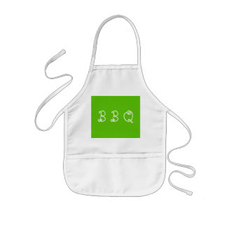 Margarita Lime-Acid Lime-Green Uptown Girl Wedding Kids Apron