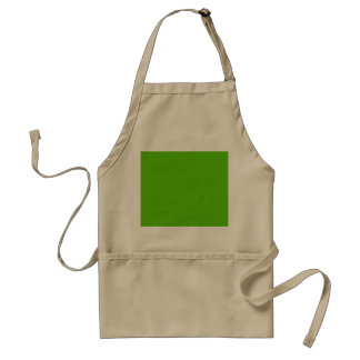 Margarita Lime-Acid Lime-Green Uptown Girl Wedding Standard Apron