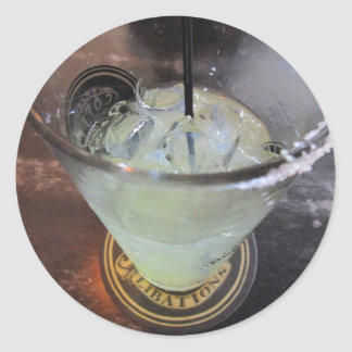 Margarita Monday Round Sticker