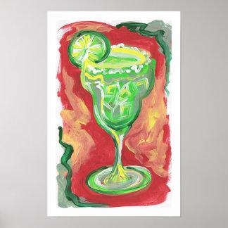 Margarita painting poster