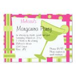 Margarita Party 3.5x5 Paper Invitation Card