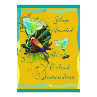 Margarita Party Card