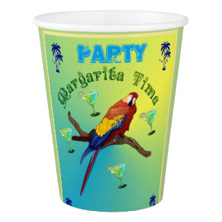 Margarita Party Paper Cup
